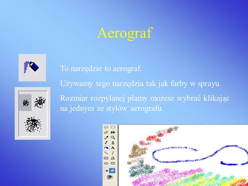 Aerograf To narzędzie to aerograf.