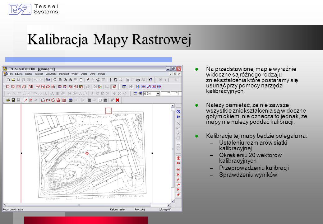 Kalibracja Mapy Rastrowej
