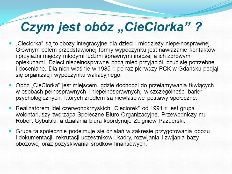 """Czym jest obóz """"CieCiorka"""