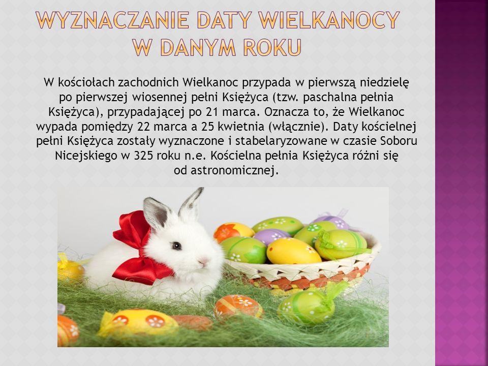 Wyznaczanie daty Wielkanocy w danym roku