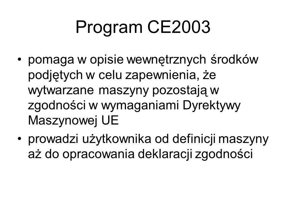 Program CE2003