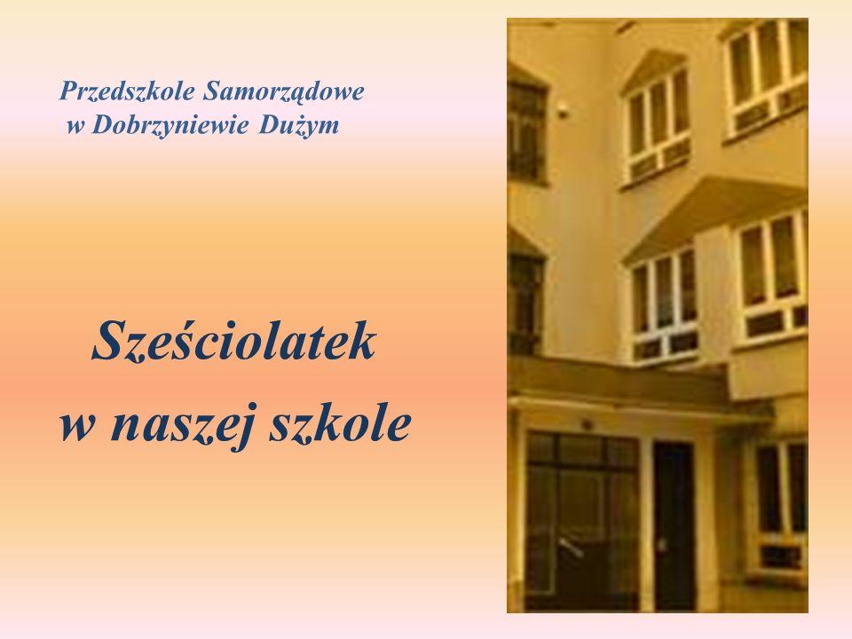 Przedszkole Samorządowe w Dobrzyniewie Dużym