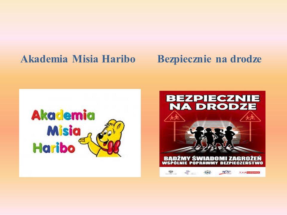 Akademia Misia Haribo Bezpiecznie na drodze