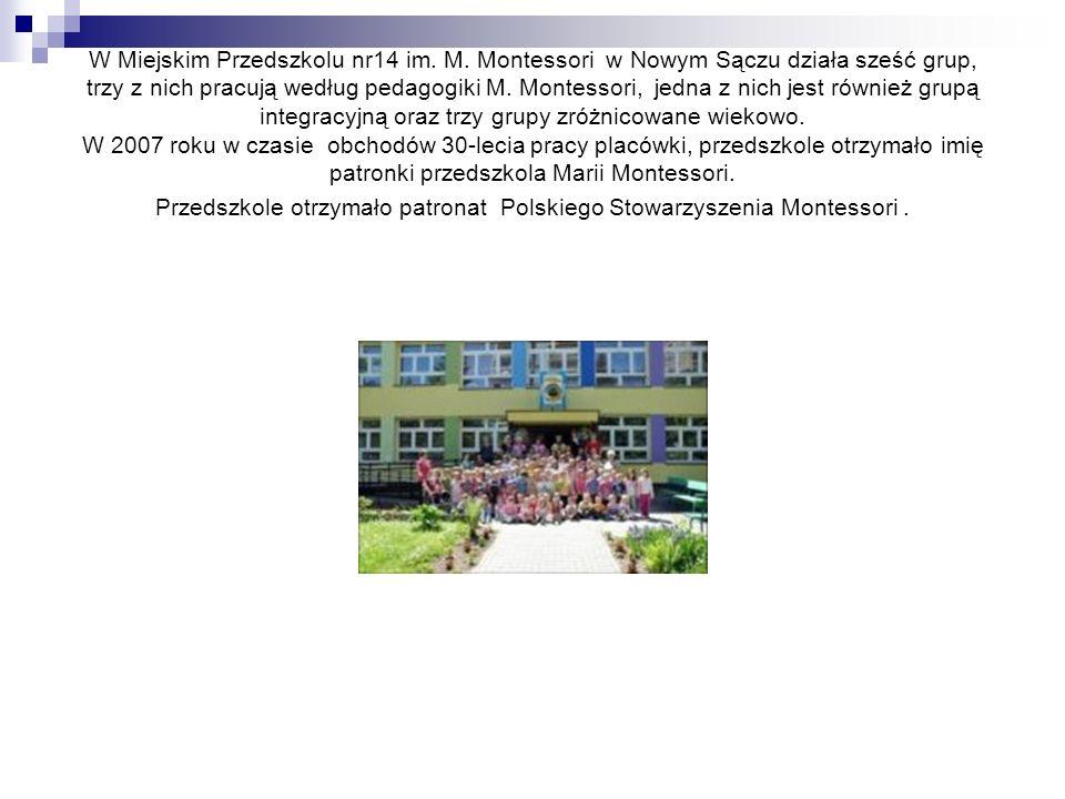 W Miejskim Przedszkolu nr14 im. M