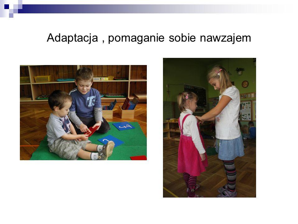 Adaptacja , pomaganie sobie nawzajem