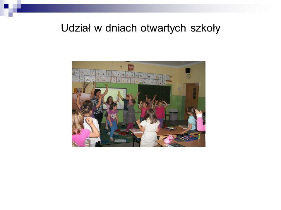 Udział w dniach otwartych szkoły