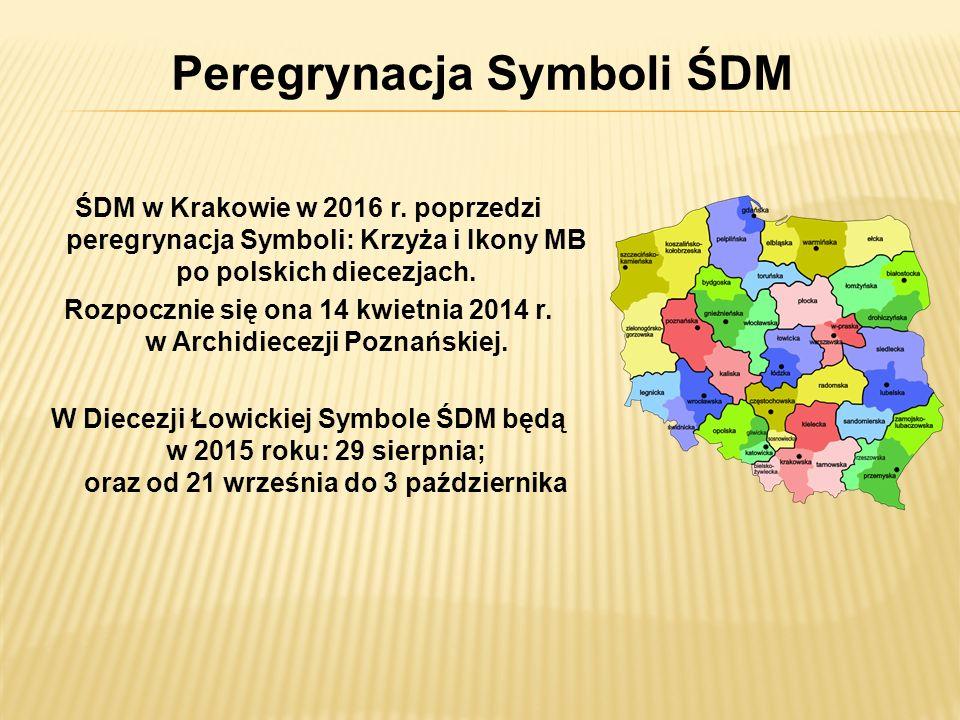 Peregrynacja Symboli ŚDM