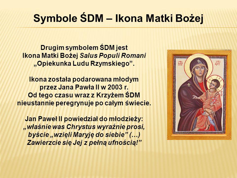 Symbole ŚDM – Ikona Matki Bożej