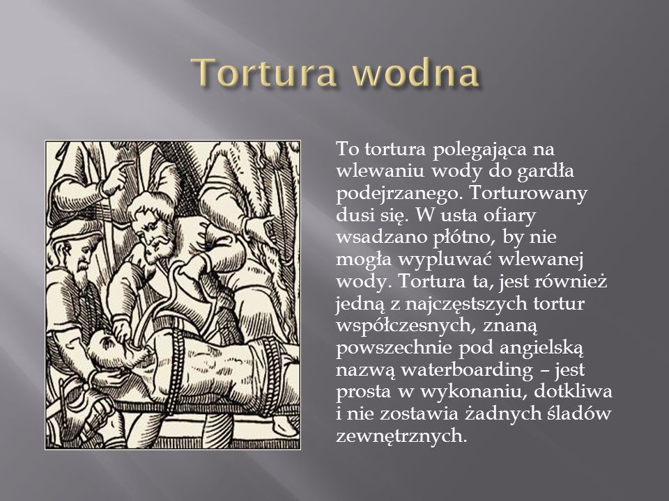 Tortura wodna