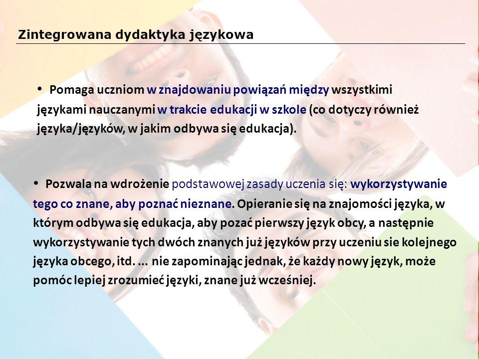 Zintegrowana dydaktyka językowa