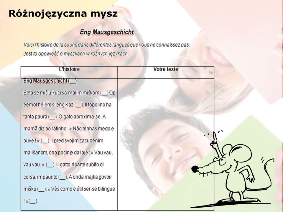 Różnojęzyczna mysz