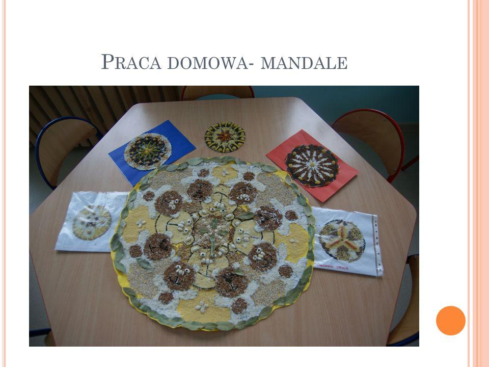 Praca domowa- mandale