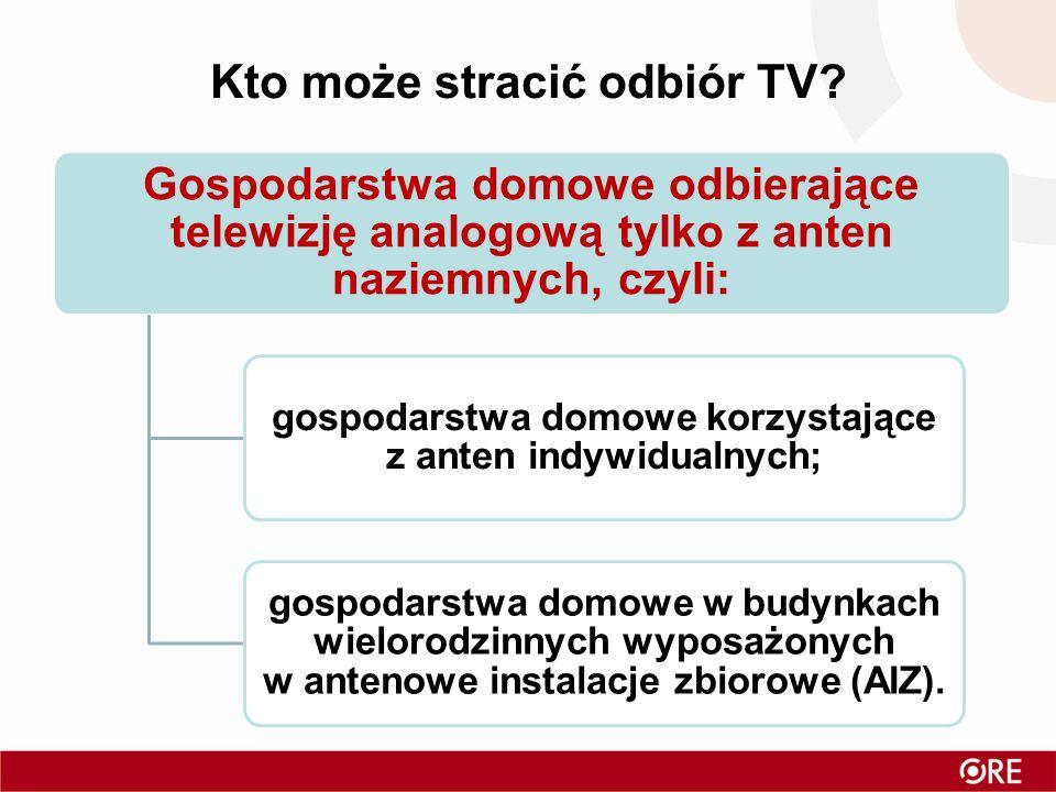Kto może stracić odbiór TV