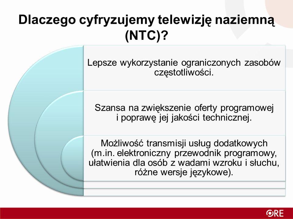 Dlaczego cyfryzujemy telewizję naziemną (NTC)