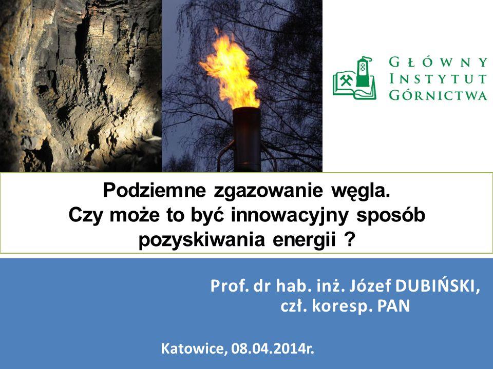 Prof. dr hab. inż. Józef DUBIŃSKI, czł. koresp. PAN