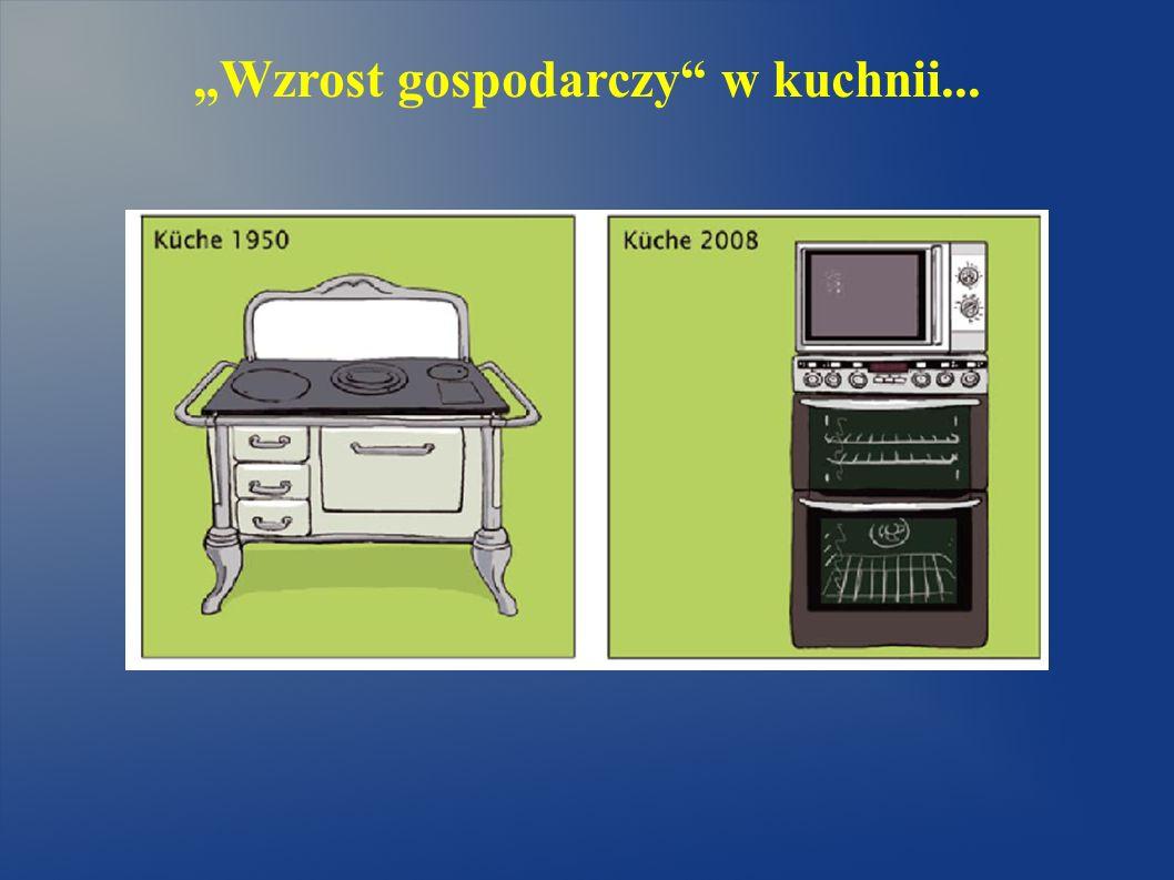 """""""Wzrost gospodarczy w kuchnii..."""