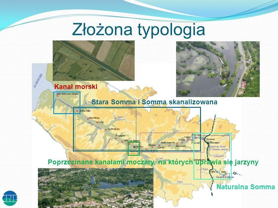 Złożona typologia Kanał morski Stara Somma i Somma skanalizowana