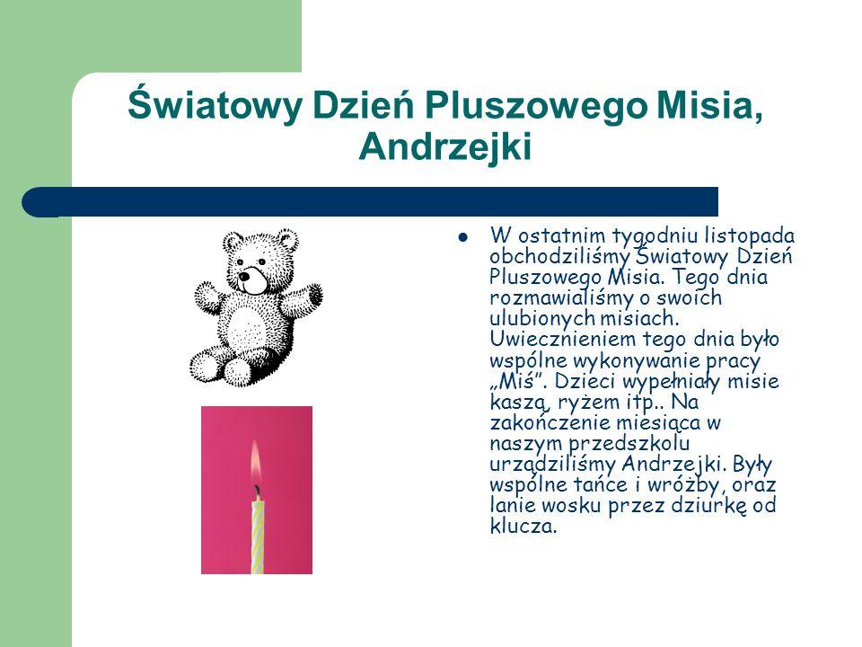 Światowy Dzień Pluszowego Misia, Andrzejki
