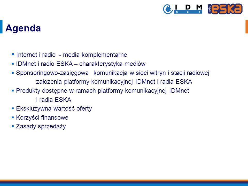 Agenda Internet i radio - media komplementarne