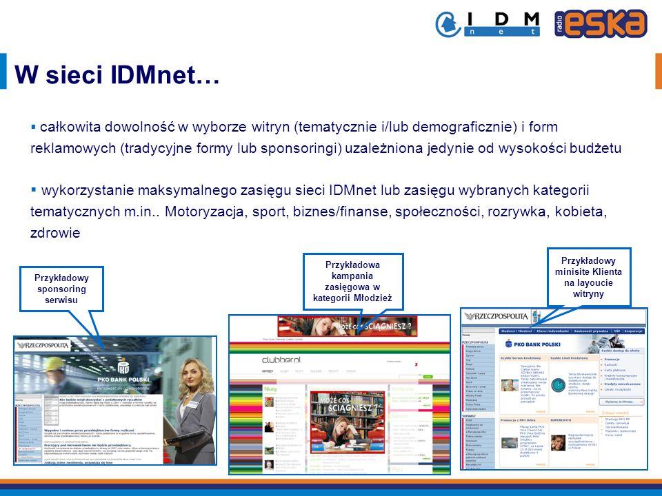 W sieci IDMnet…