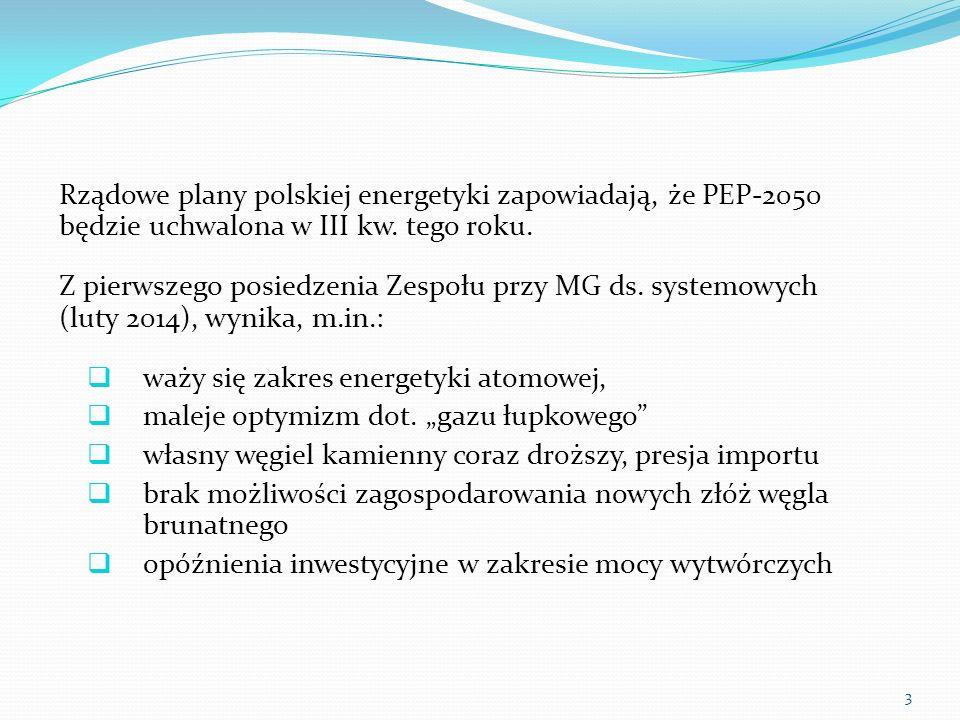 Rządowe plany polskiej energetyki zapowiadają, że PEP-2050 będzie uchwalona w III kw. tego roku.