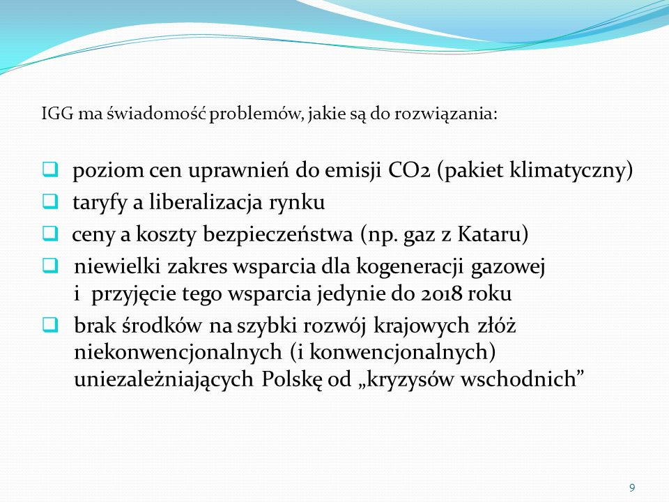 poziom cen uprawnień do emisji CO2 (pakiet klimatyczny)