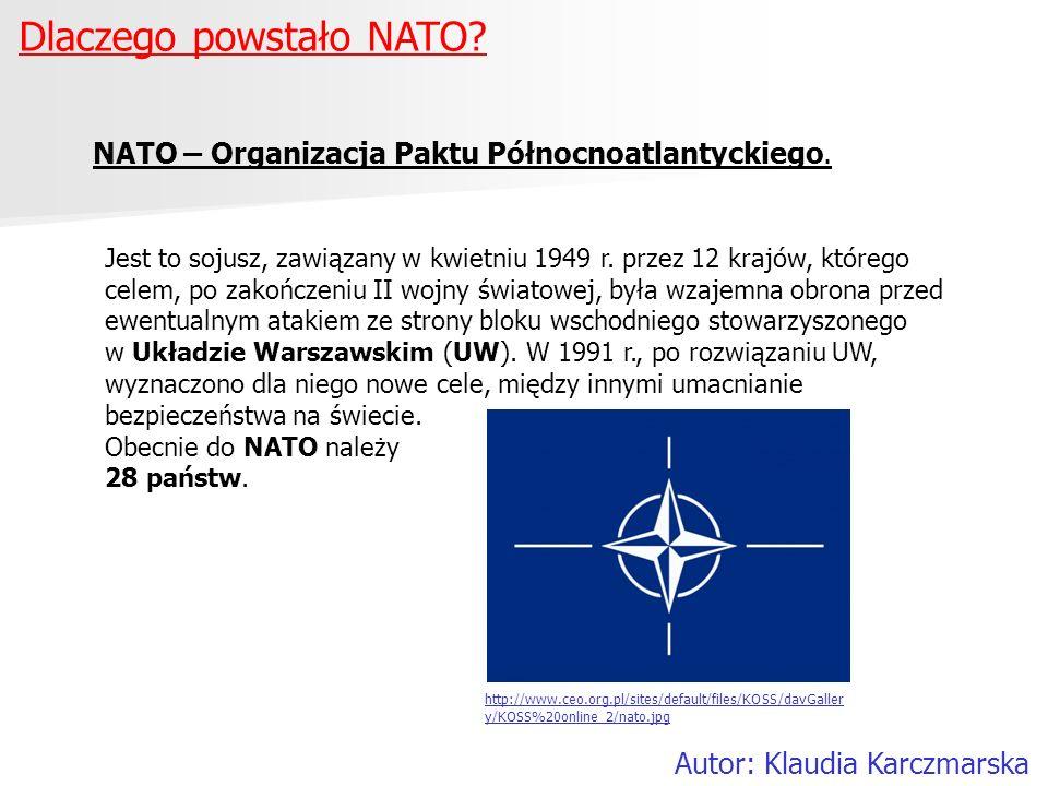 Dlaczego powstało NATO
