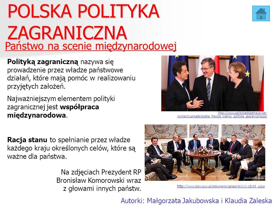 POLSKA POLITYKA ZAGRANICZNA