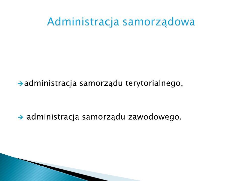 Administracja samorządowa