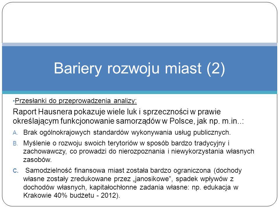 Bariery rozwoju miast (2)