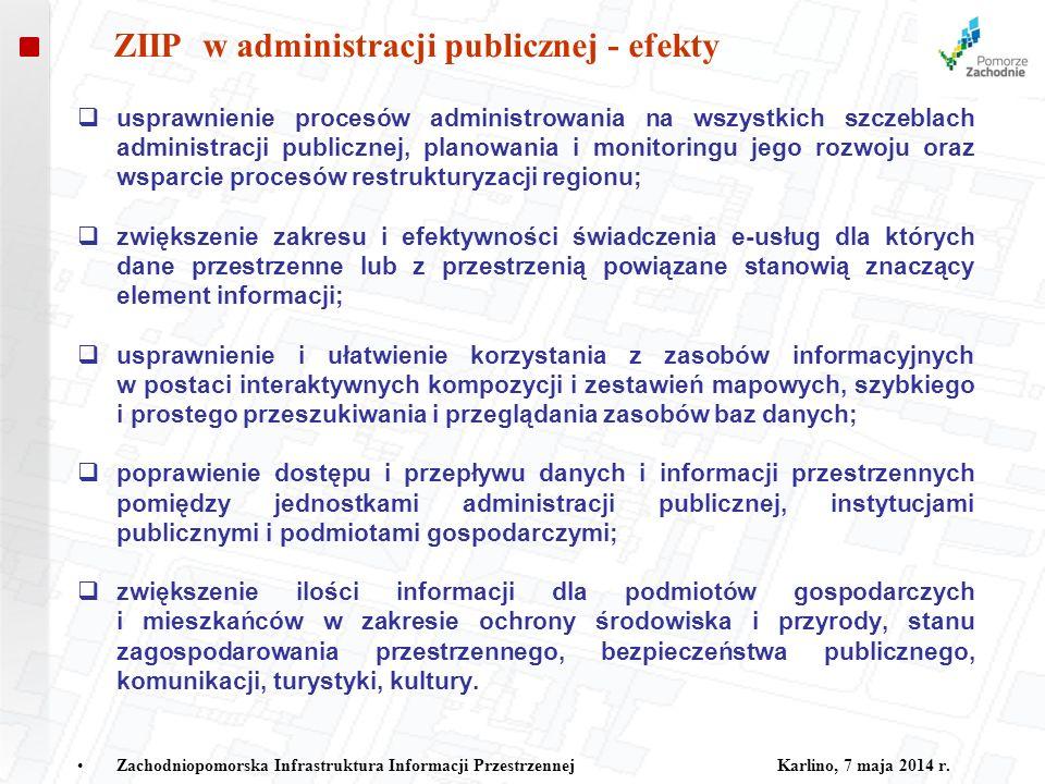 ZIIP w administracji publicznej - efekty
