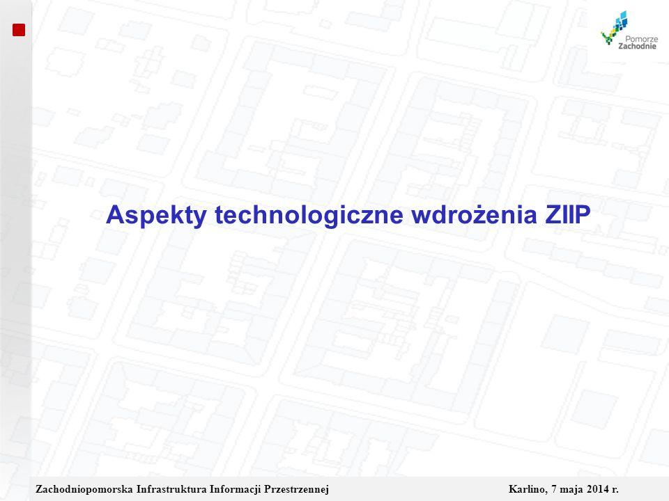 Aspekty technologiczne wdrożenia ZIIP