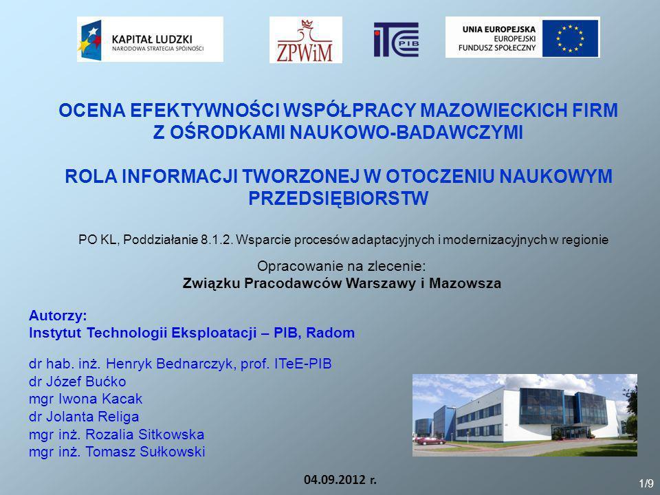 Związku Pracodawców Warszawy i Mazowsza