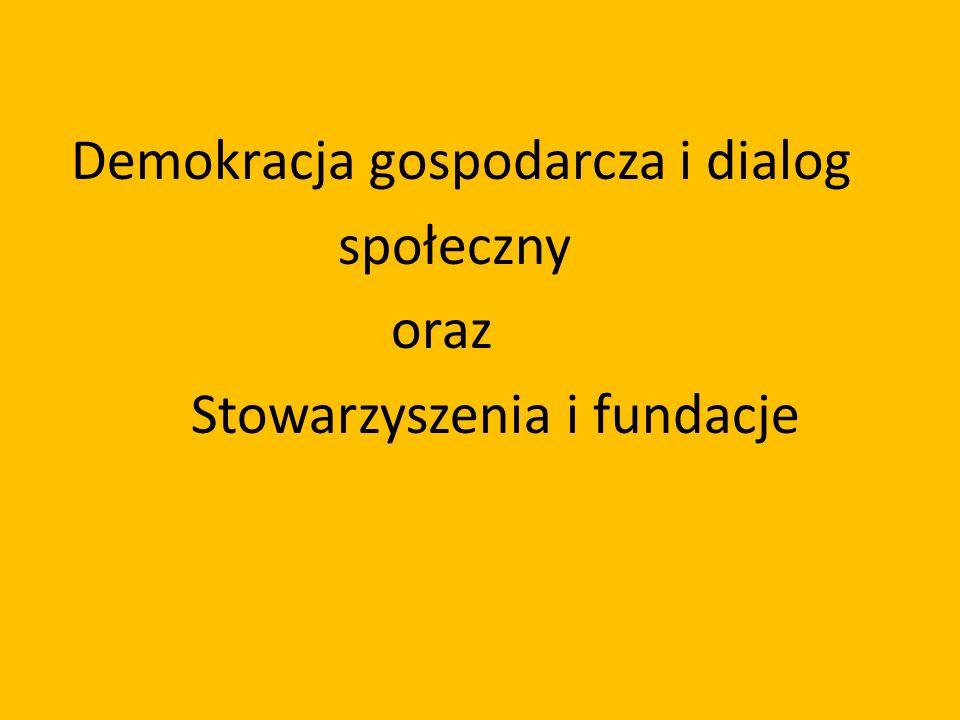 Demokracja gospodarcza i dialog