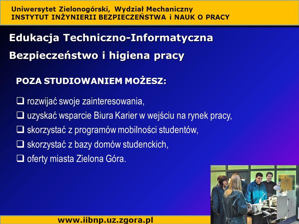 Edukacja Techniczno-Informatyczna Bezpieczeństwo i higiena pracy