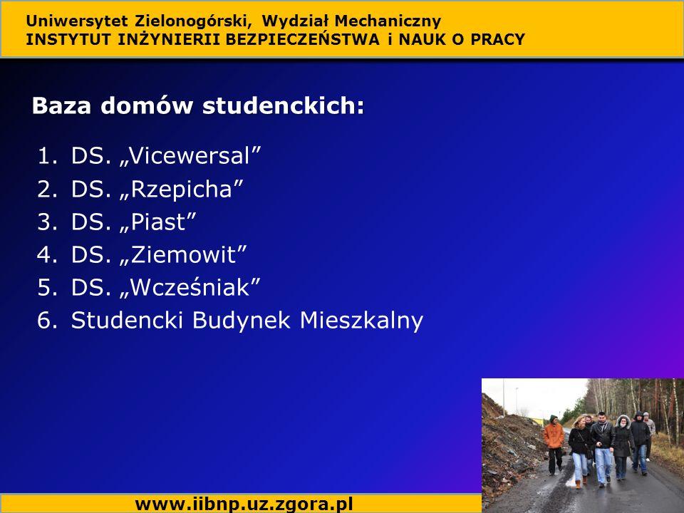 Baza domów studenckich: