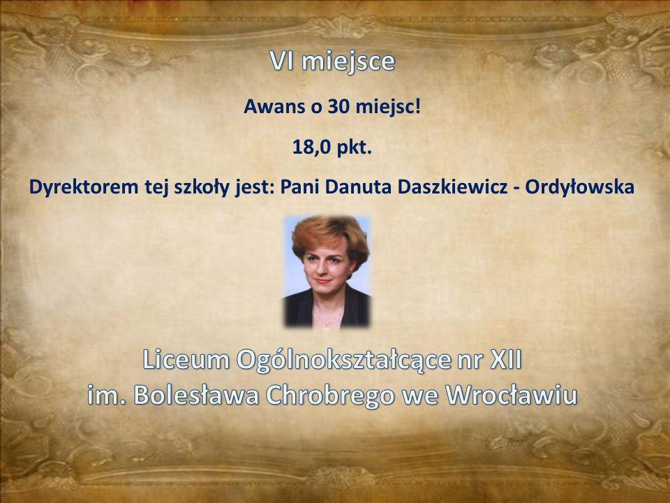 Liceum Ogólnokształcące nr XII im. Bolesława Chrobrego we Wrocławiu