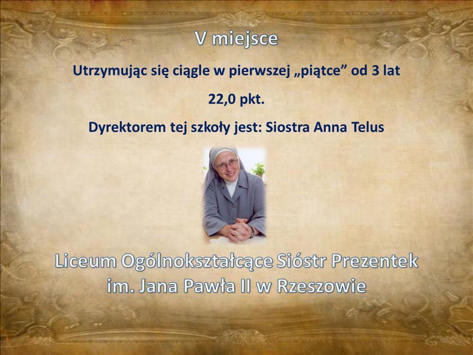Liceum Ogólnokształcące Sióstr Prezentek im. Jana Pawła II w Rzeszowie