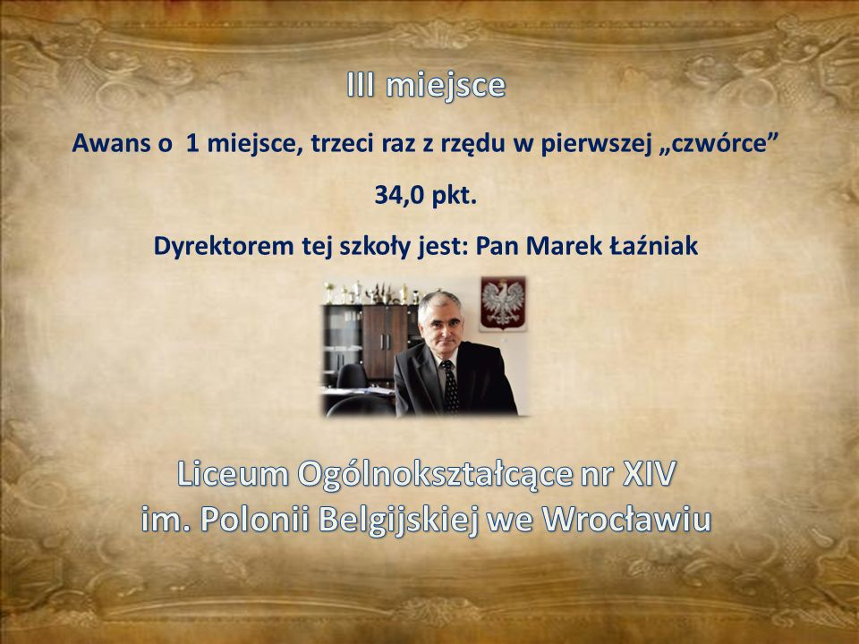 Liceum Ogólnokształcące nr XIV im. Polonii Belgijskiej we Wrocławiu