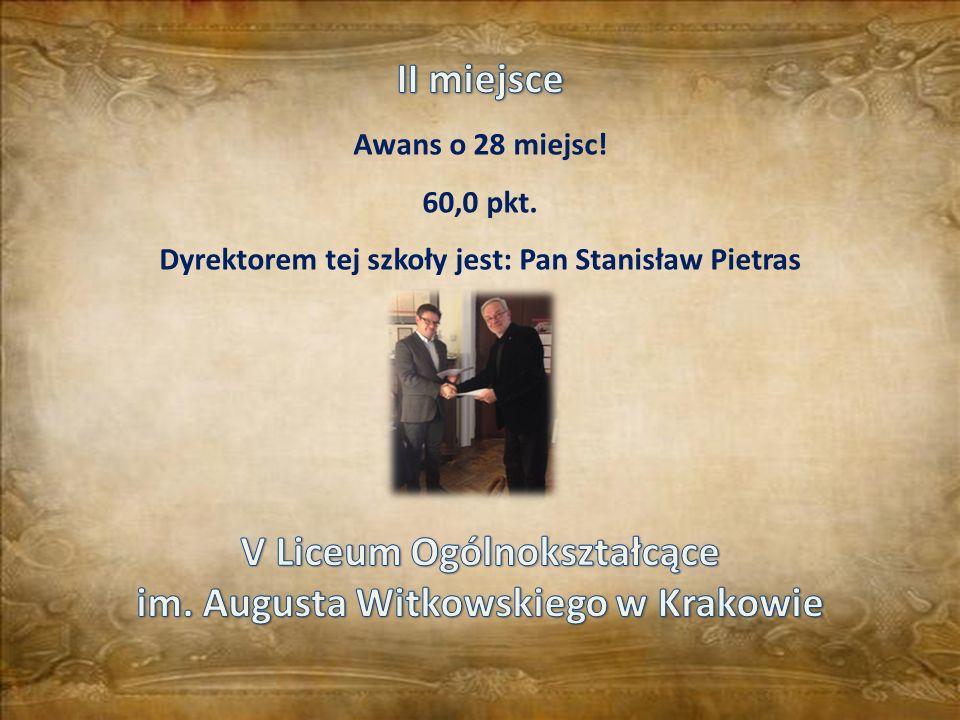 V Liceum Ogólnokształcące im. Augusta Witkowskiego w Krakowie