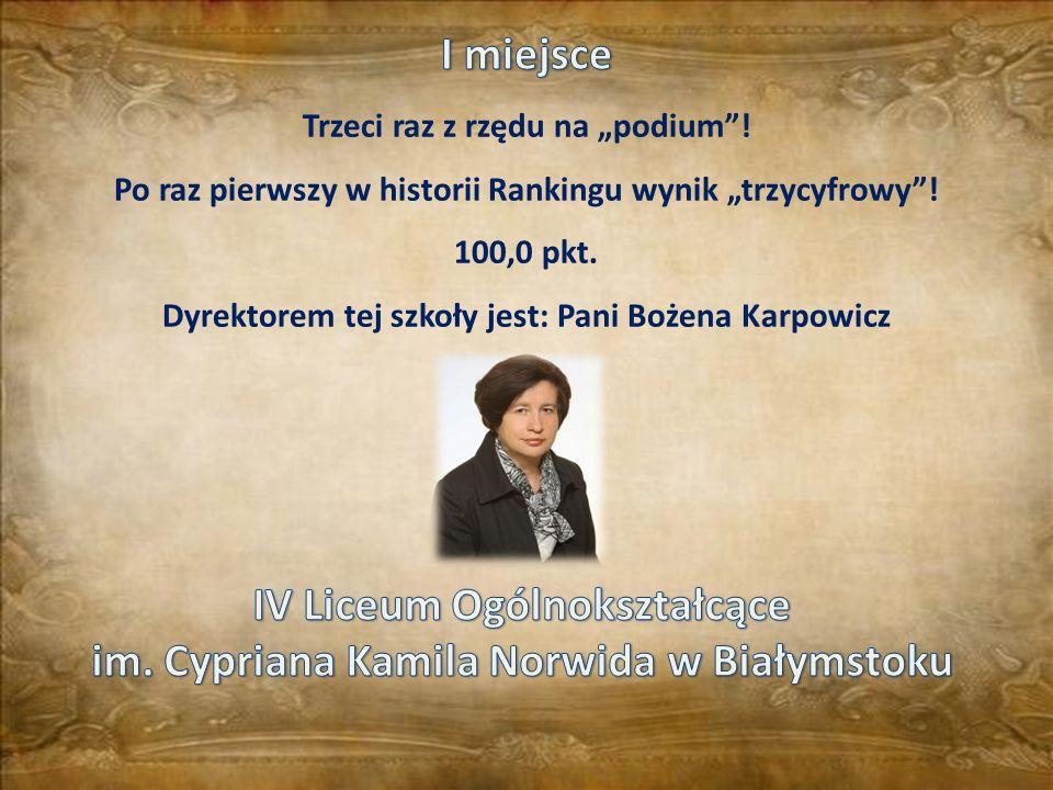 IV Liceum Ogólnokształcące im. Cypriana Kamila Norwida w Białymstoku