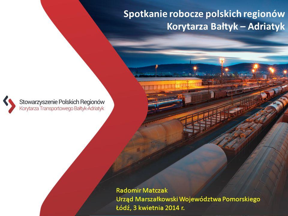Spotkanie robocze polskich regionów Korytarza Bałtyk – Adriatyk