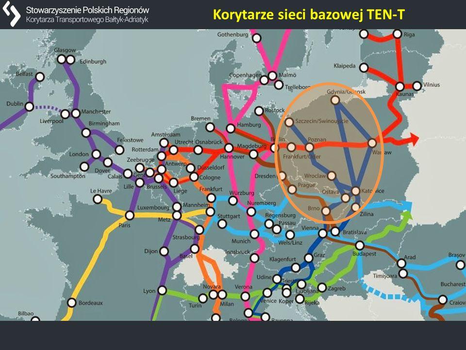 Korytarze sieci bazowej TEN-T