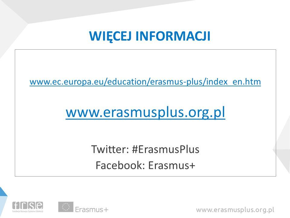 Twitter: #ErasmusPlus