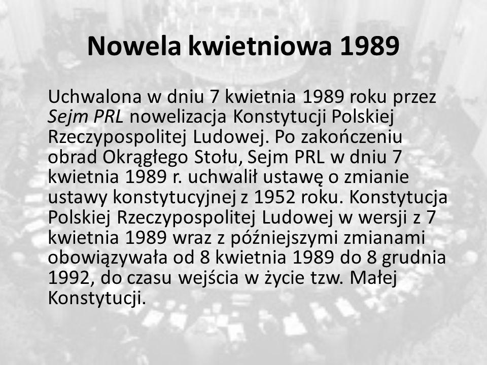 Nowela kwietniowa 1989