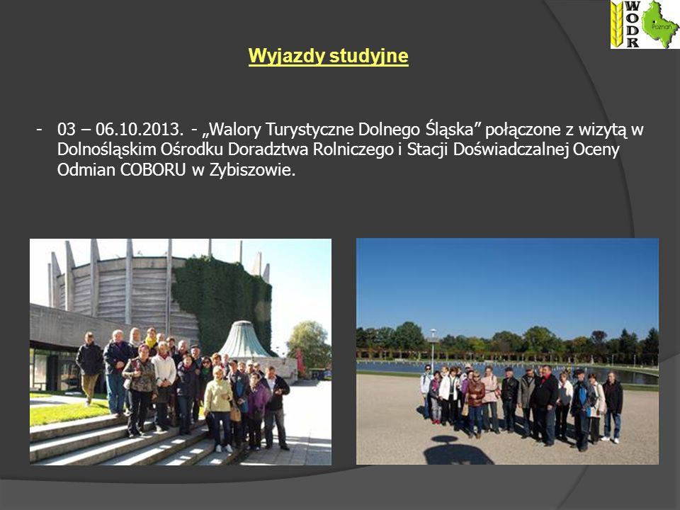"""Wyjazdy studyjne 03 – 06.10.2013. - """"Walory Turystyczne Dolnego Śląska połączone z wizytą w."""