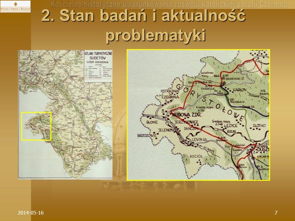 2. Stan badań i aktualność problematyki