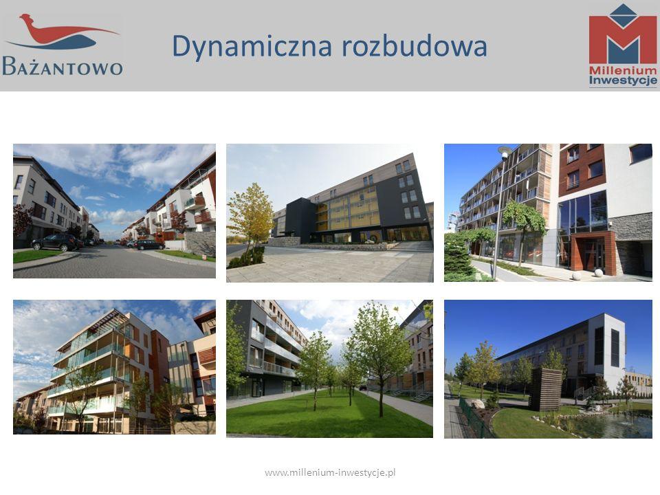Dynamiczna rozbudowa www.millenium-inwestycje.pl
