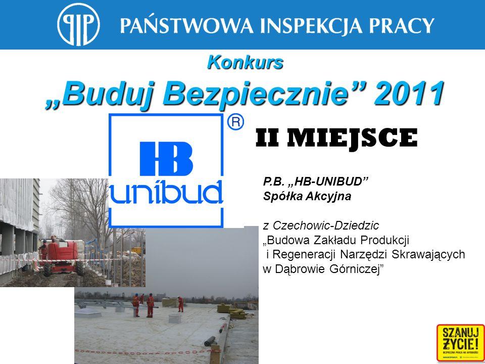 """Konkurs """"Buduj Bezpiecznie 2011"""