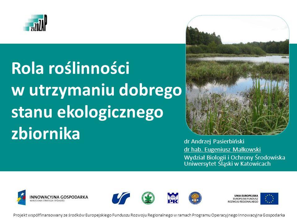 Rola roślinności w utrzymaniu dobrego stanu ekologicznego zbiornika